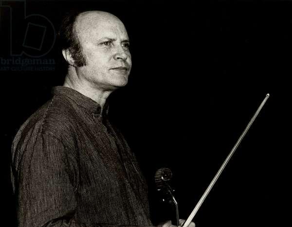 Malcolm Goldstein  Portrait