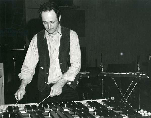 Steve Reich  rehearsing