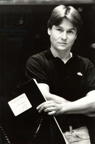 Esa-Pekka Salonen with score