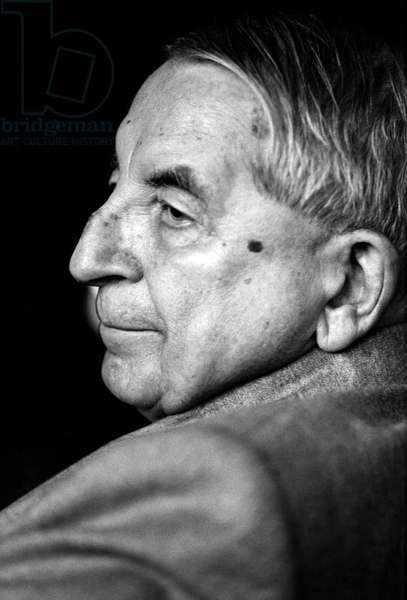Nicolas Slonimsky - portrait