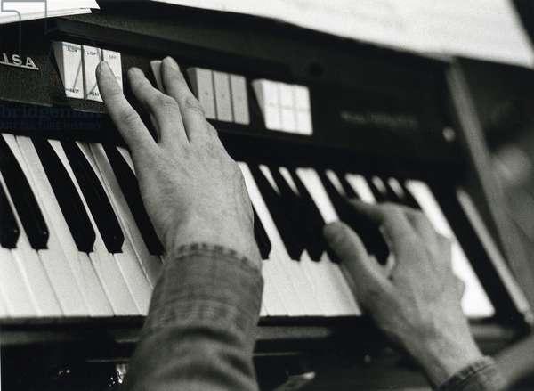 Phillip Glass's hands