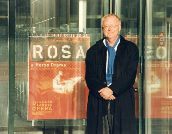 Louis Andriessen in Amsterdam