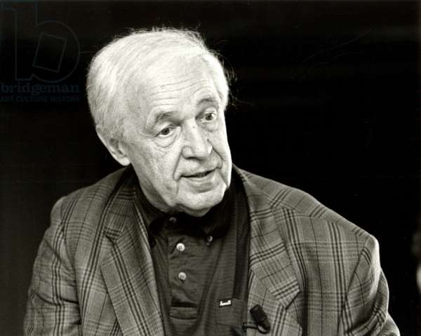 Pierre Boulez taken during