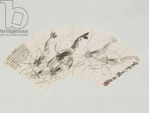 Shrimps, 1931 (ink on paper)