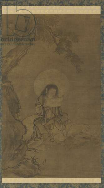 Fugen, Muromachi Period (ink & colour on silk)