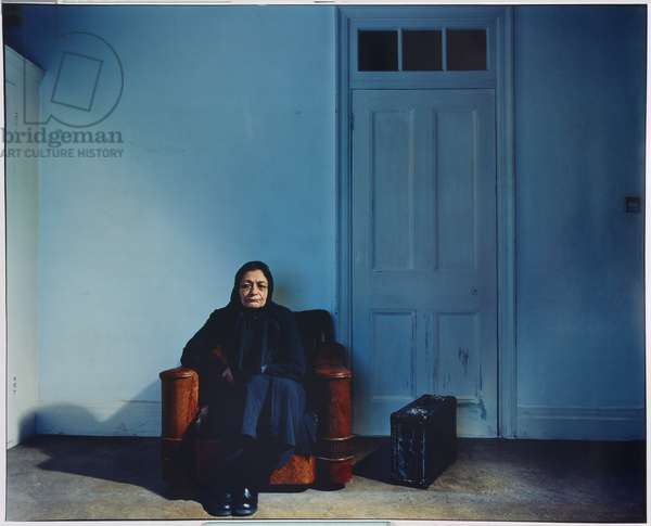 A Long Wait, from Border series, 2005-2006, printed 2013 (chromogenic print on paper)