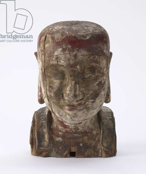 Head of a Lohan (wood)