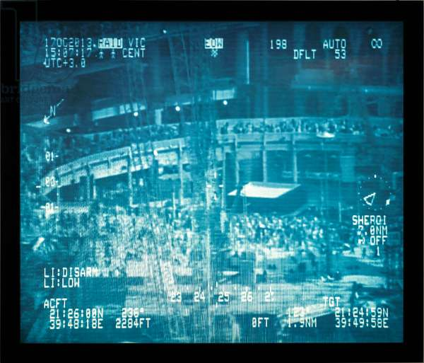 Disarm, from the series, Desert of Pharan, 2011-2013 (polyester colour transparencies mounted to Plexiglas on a lightbox)