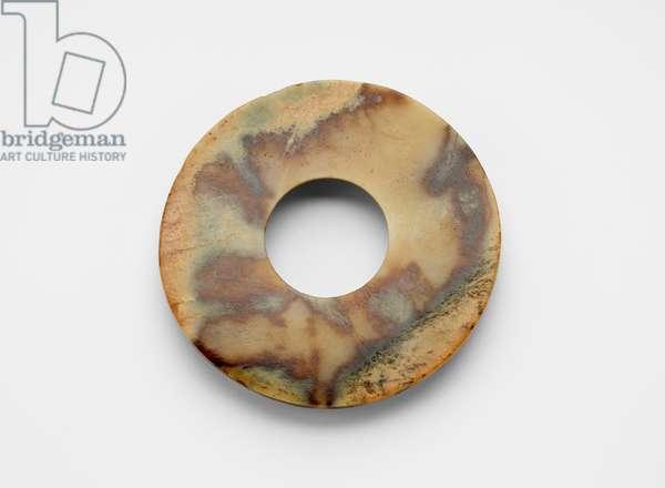 Disk, c.2500 BC (jade, nephrite)