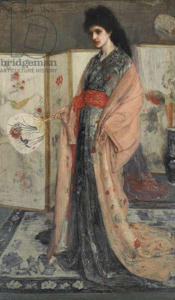 La Princesse du pays de la porcelaine (The Princess from the Land of Porcelain) 1863-65 (oil on canvas)