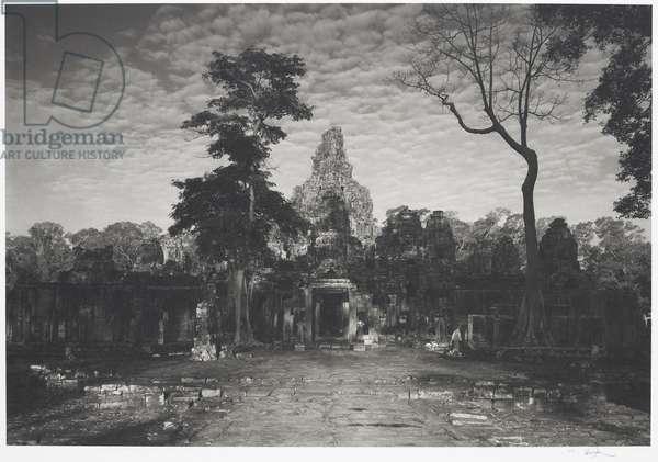 Angkor #79, Cambodia (Temple of 'Bayon'), 1996 (platinum print)
