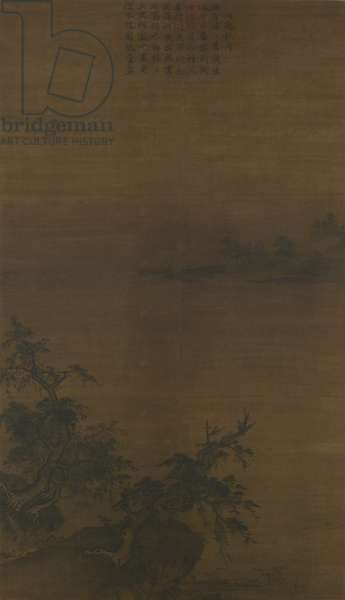 Autumn Moonlight on Dongting Lake, Southern Song dynasty (ink on silk)