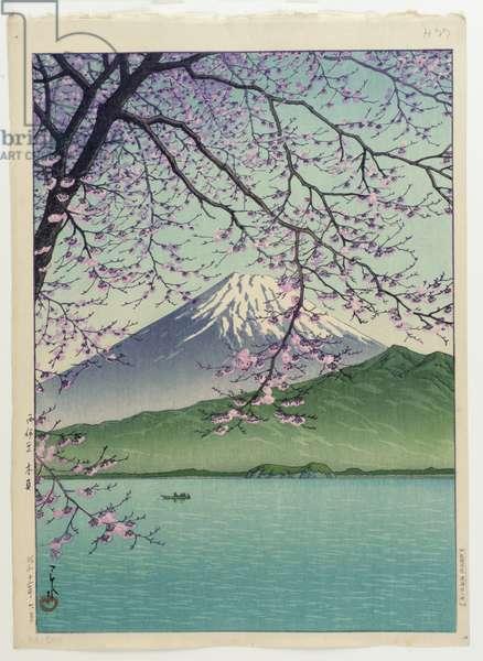 Kisho, Nishi-Izu, 1937 (colour woodblock print)