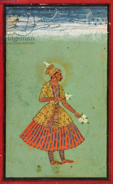 Rao Jagat Singh of Kota, c.1670-1675 (opaque watercolor and gold on paper)