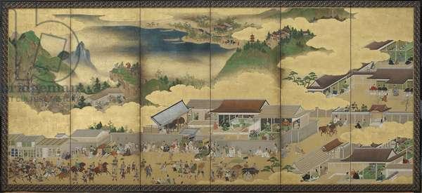 The Tale of Shuten Doji, Edo period, c.1625-50 (ink, opaque watercolour and gold on paper)