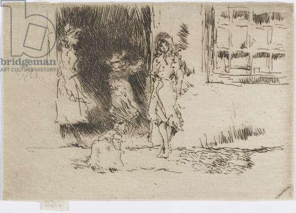 Cottage Door, c.1884-86 (etching on paper)