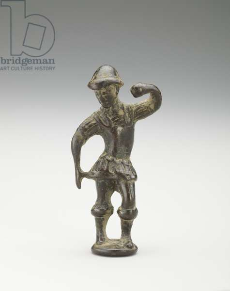 A dancer in Roman costume, Tang Dynasty, 618-907 (bronze)