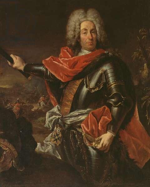 Portrait of Marshal Mattia von Schulemburg (oil on canvas)