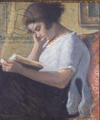 Young Girl Reading, 1920 (painting)