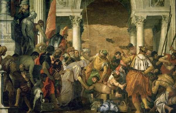 Martyrdom of St. Sebastian, 1565