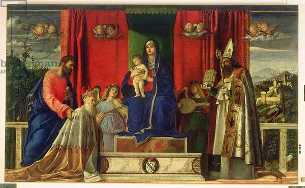 Madonna and Child (Barbarigo Altarpiece) 1488