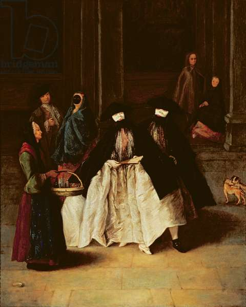 The Perfume Seller (oil on canvas) (see alo 166068)