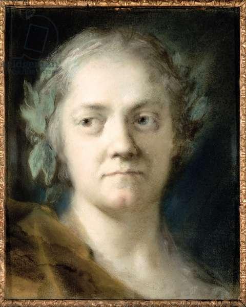 Self Portrait (oil on paper)