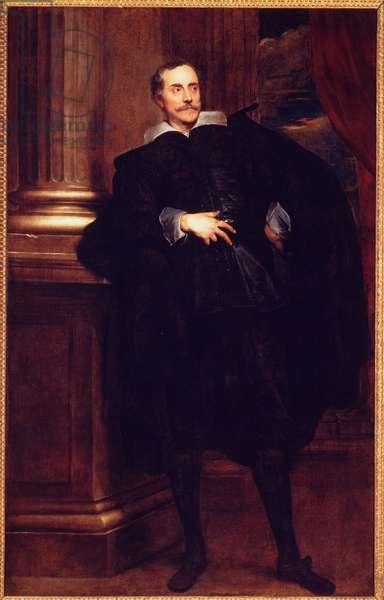 Portrait of Marcello Durazzo (oil on canvas)