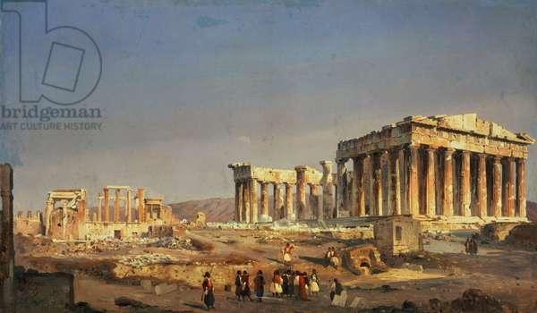 The Parthenon, 1863