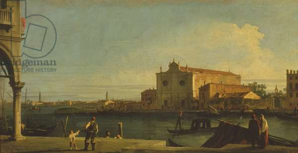 The Church of S. Giovanni dei Battuti, Murano (oil on canvas)
