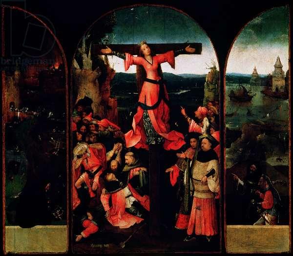 St. Liberata Triptych (oil on panel)