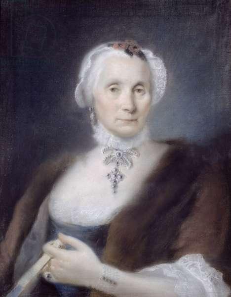 Portrait of the Artist's Mother, Cecilia Guardi, 1757 (pastel)