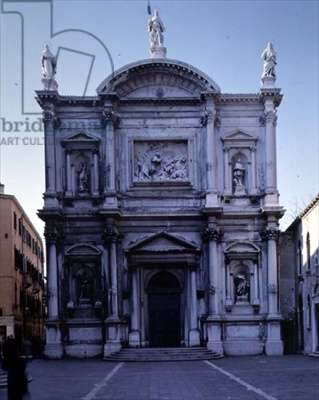 The Facade, designed by Bartolommeo Bon, Sante Lombardo and completed by Scarpagnino (1465/70-1549) (photo)