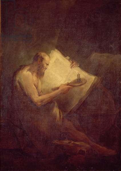 Pythagoras (6th century BC) (oil on canvas)