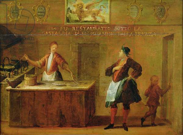 Sign of the Venetian Pastry Makers' Guild (panel)