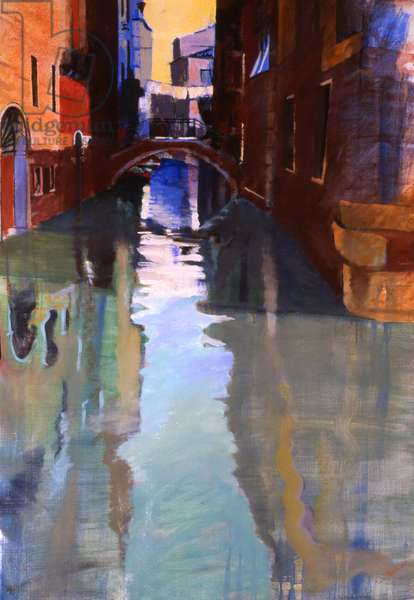 Little Canal, 2005 (oil on canvas)