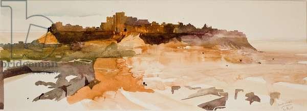 Desert Citadel, Jaiselmer (w/c on paper)