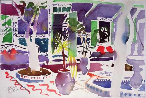 Chellah Marrakech (w/c on paper)