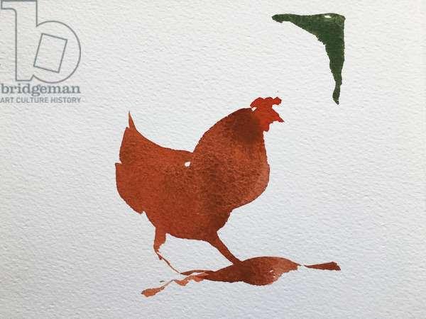 Single chicken