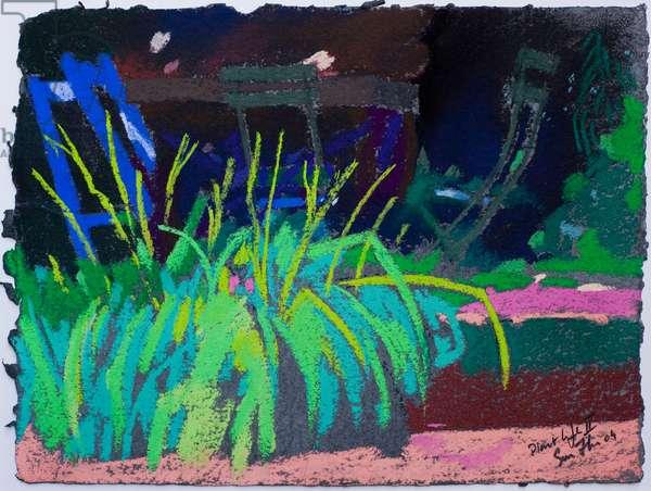 Plant Life (pastel on paper)