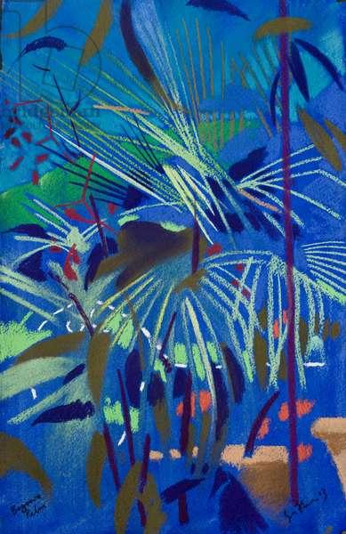 Begonia Palm (pastel on paper)