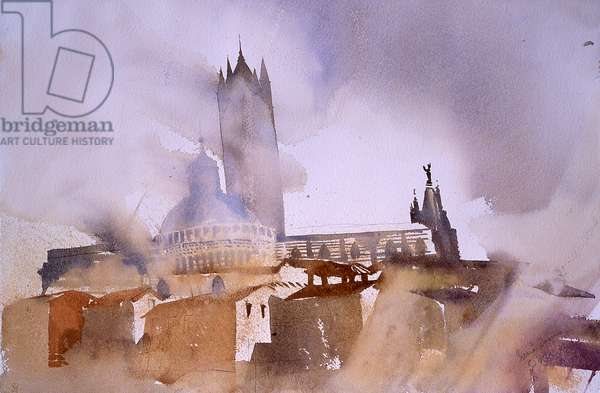 Siena cathedral 2002, watercolour