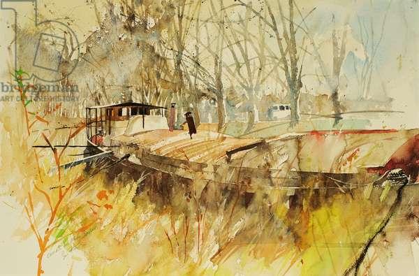 Canal du Midi 2000 (watercolour
