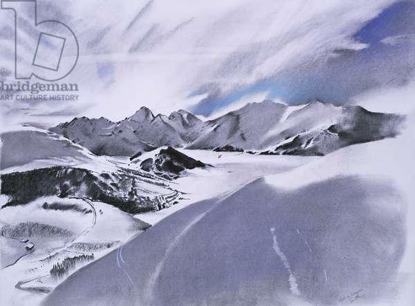 Alpes et nuages