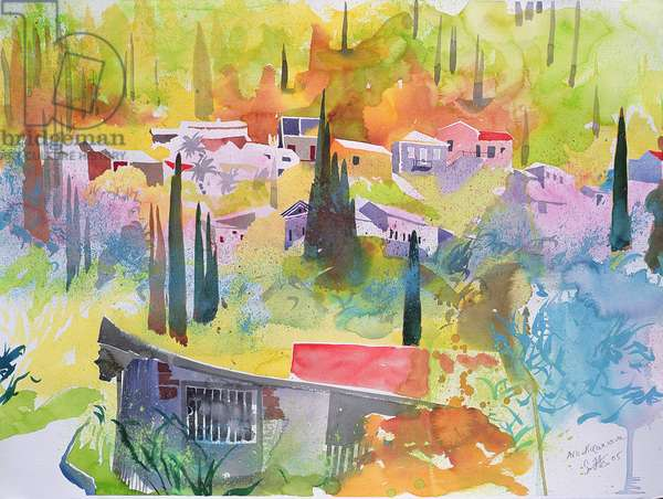 Anno Korikiana, Corfu, 2005 (watercolour)