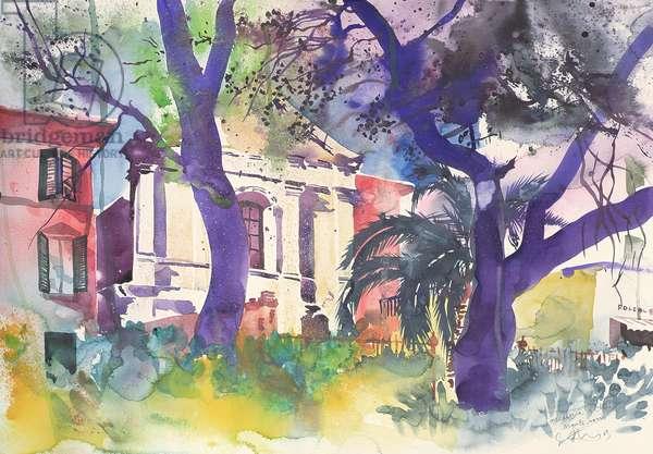 Foccaceria e Chiesa, Italy, 2003 (watercolour)