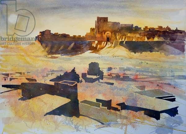 sandstorm, 2007, mixed media