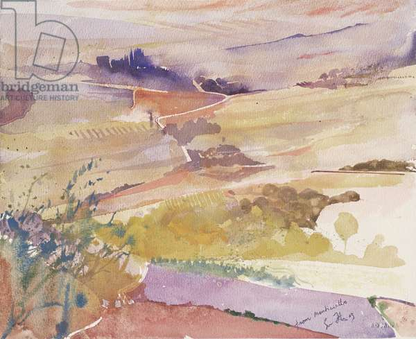 From Monticello, Italy, 2003 (watercolour)