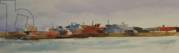 Chantier marine 2008 (watercolour)