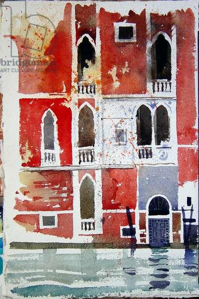 The red house, Venice